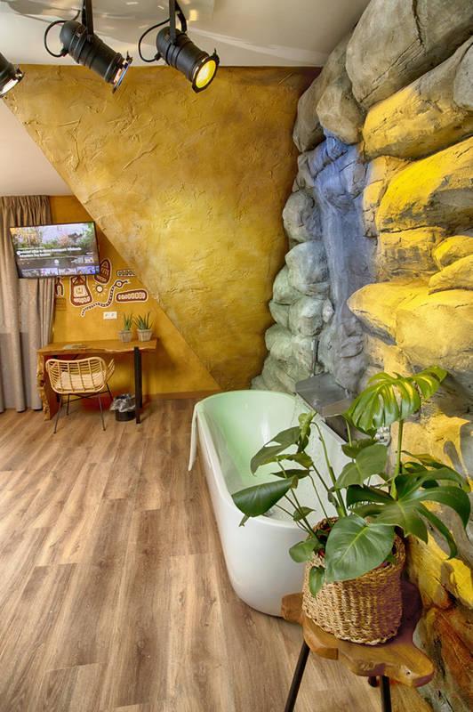 Gethematiseerde familiekamer voor het hele gezin