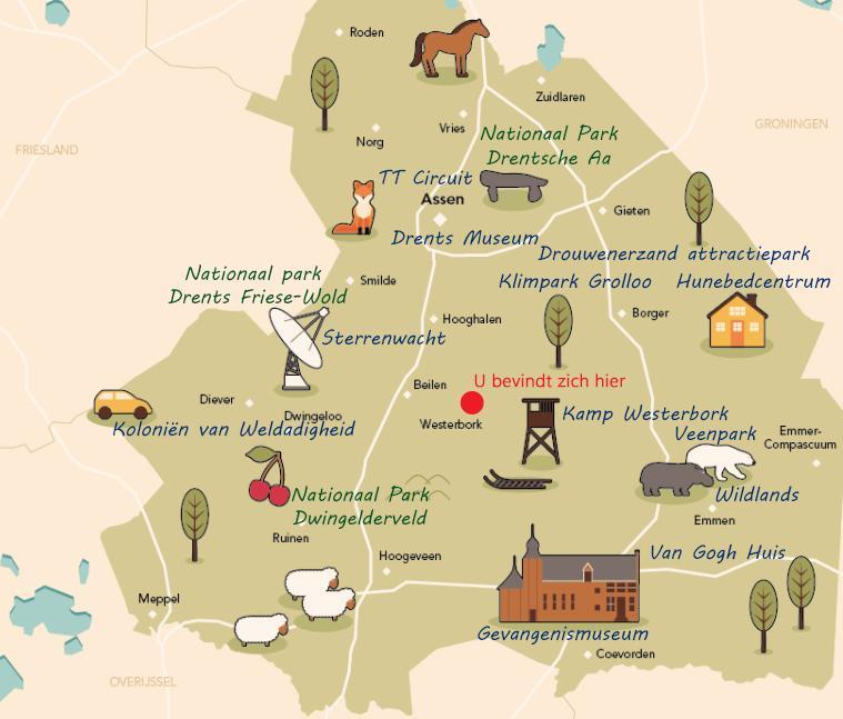 Drenthe | Zoveel te zien en te doen. Bekijk hier onze suggesties!