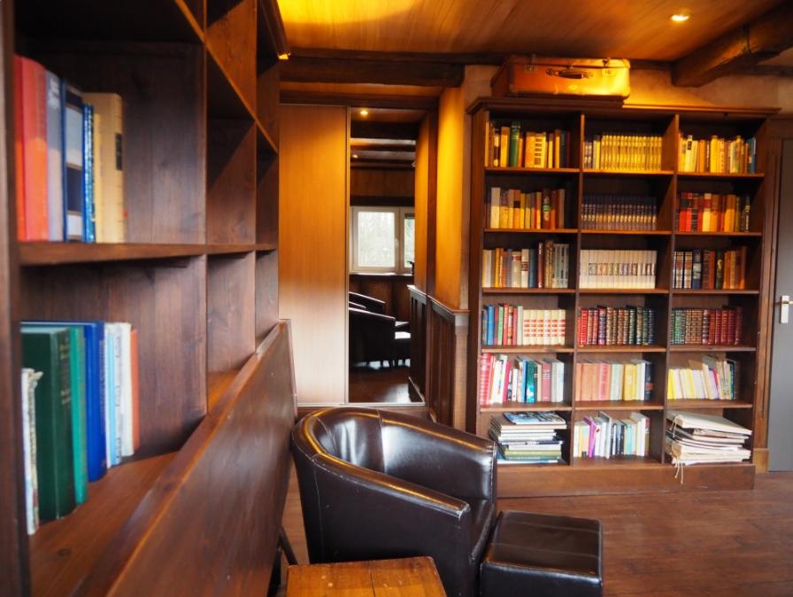De Bibliotheek Kamer : Luxe themakamer de bibliotheek uniek overnachten in drenthe