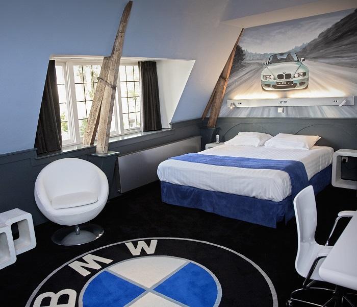 Hotel met thema kamers