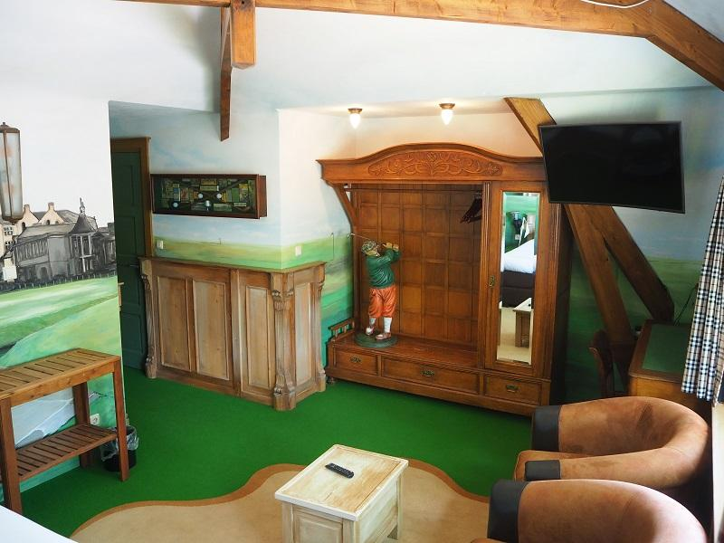 Luxe Themakamer De Golfkamer - St. Andrews