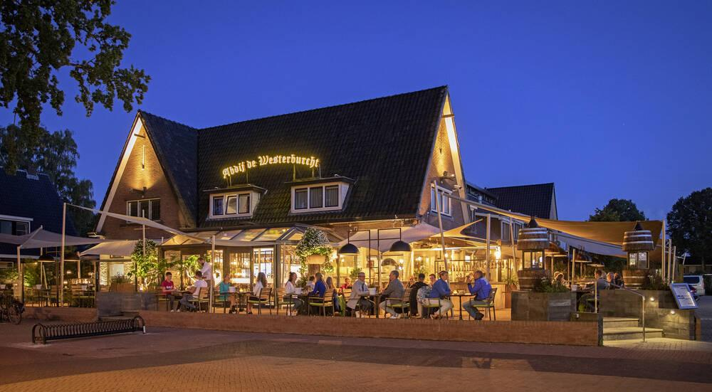 sfeervol terras luxe hotels Drenthe
