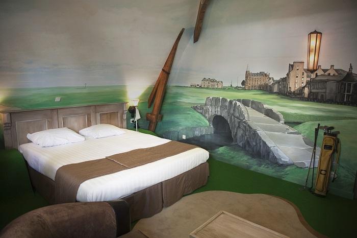 Luxe Themakamer 'De Golfkamer'