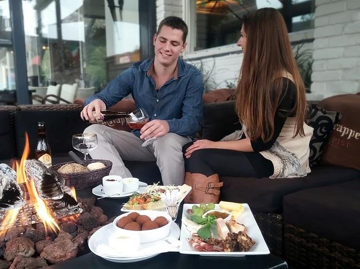 Terras restaurant Drenthe