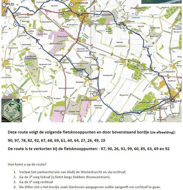 Orvelter route | Fietsen langs het museumdorp Orvelte