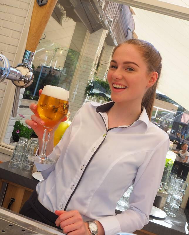 Lekker biertje van de tap