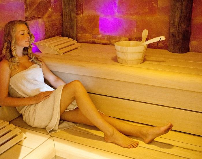 Sauna Relax Arrangement