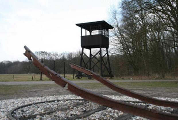 Uitkijktoren kamp Westerbork