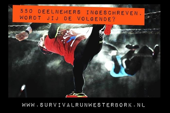 't Stokertje Survival run 21 januari 2018