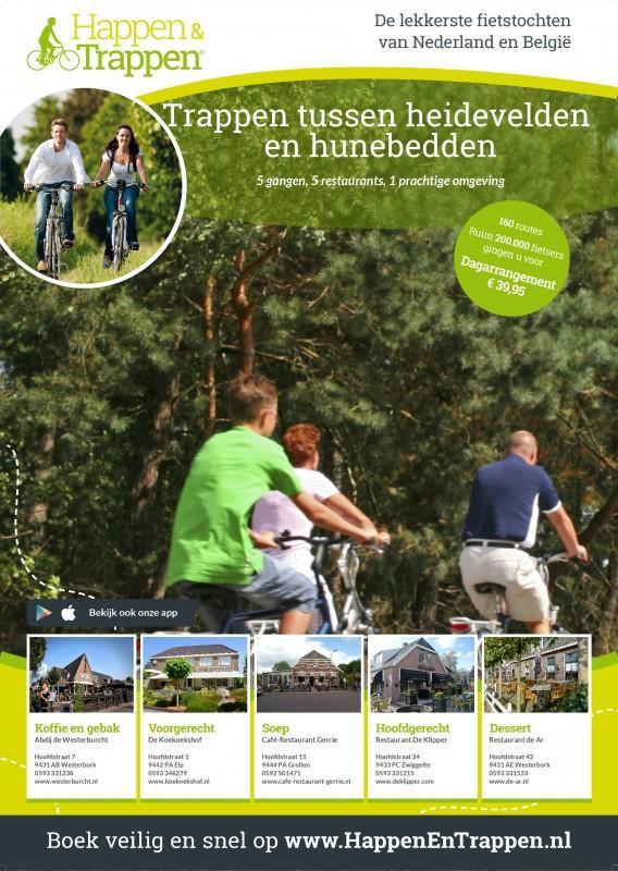 Trappen tussen heidevelden en hunebedden in Drenthe