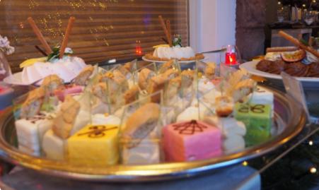 Vuurwerk Dessert Buffet